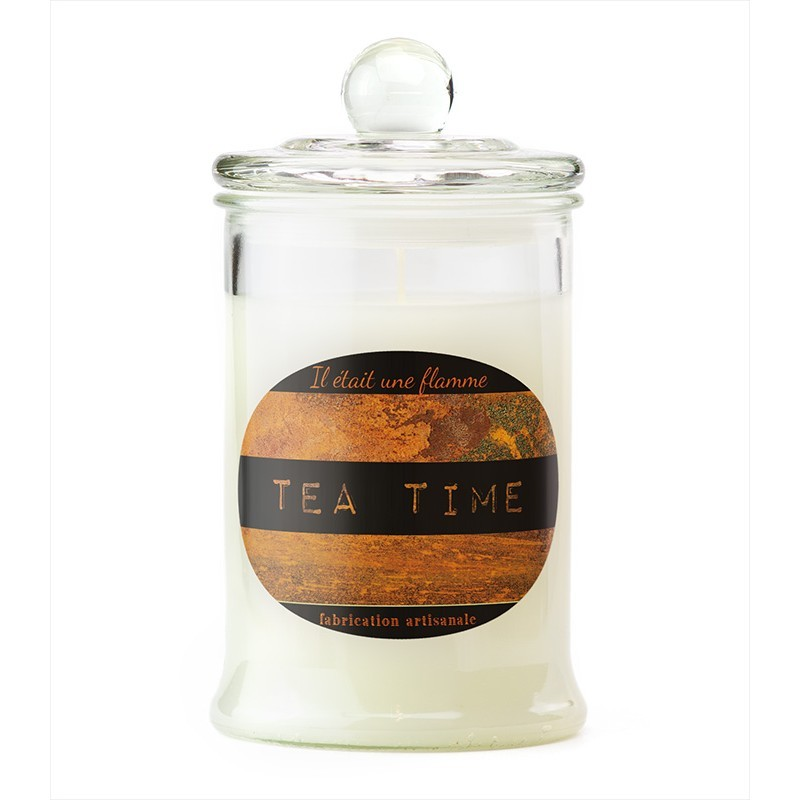 Scented candle Tea time